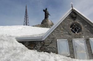Rocciamelone rifugio santa Maria